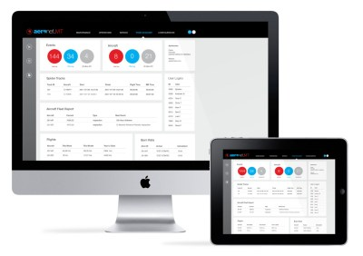 Spidertracks and Aeronet claim their automated maintenance tracking solution is the industry's first. Spidertracks Image