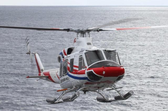 Ultimate Heli operated the Bell 412EP to provide much-needed aerial support for four islands in the southern ocean.