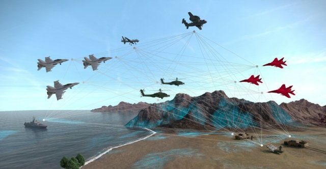 A variety of constructive elements representing enemy and friendly forces will be injected into the live and virtual training systems for the demonstration of immersive LVC training capabilities. CAE Image
