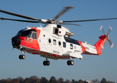 The Leonardo AW101 was handed over to the Royal Norwegian Air Force just a week before the incident, and was still a month away from its official delivery ceremony. Leonardo Photo