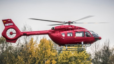 The H145 is mainly used to fly air rescue missions and as a police helicopter. Airbus Helicopters Photo