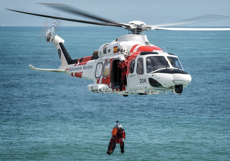 Spain's maritime search-and-rescue region is approximately three times the size of its national territory. A large aviation fleet is essential to providing adequate coverage for the region. Lloyd Horgan, Vortex Aeromedia Photo