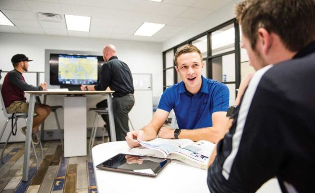 Epic's new facility boasts larger classrooms wired for the latest technology. Will Graham Photo