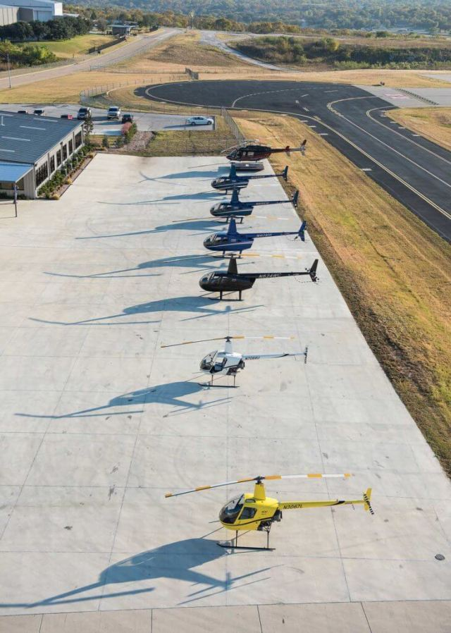 In addition to being a flight school and charter operator, Epic is an authorized Robinson service center. Will Graham Photo