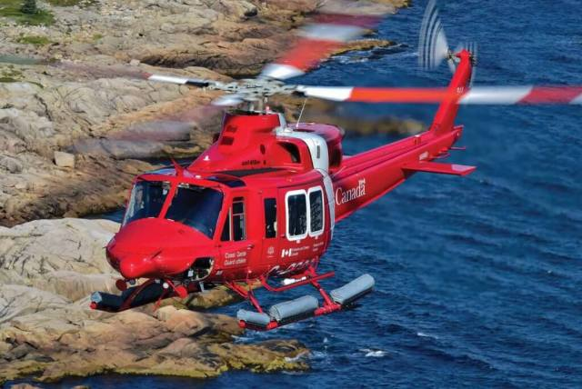 The Coast Guard base in Shearwater, Nova Scotia, received its 412EPI in June 2017, and pilots have been quick to praise the additional capabilities it provides. Mike Reyno Photo