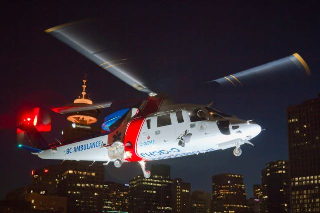 The investigation found that the night VFR flight was conducted without sufficient ambient or cultural lighting to maintain adequate visual reference to the ground. Heath Moffatt Photo
