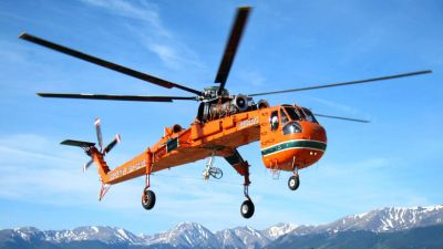 These aircraft are in addition to a previously ordered S-64E Aircrane currently under construction at Erickson and due to be delivered in Q3 2018. Erickson Photo
