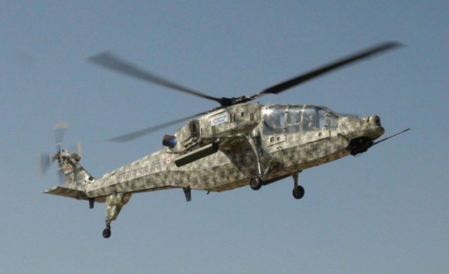 HAL described the maiden flight of LCH as