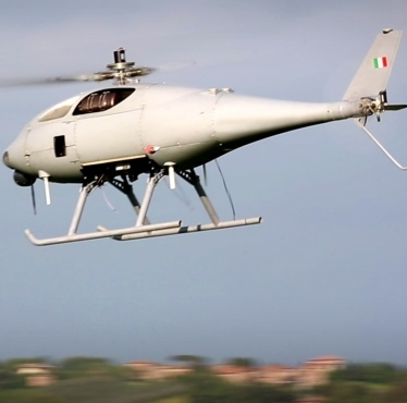 The first live demonstration of maritime surveillance, scheduled to take place in the Mediterranean Sea in 2019, will be coordinated by the Italian Navy and will see Leonardo's 'Hero' and 'Solo' unmanned helicopters operate from Italian naval units alongside other European partners. Leonardo Photo