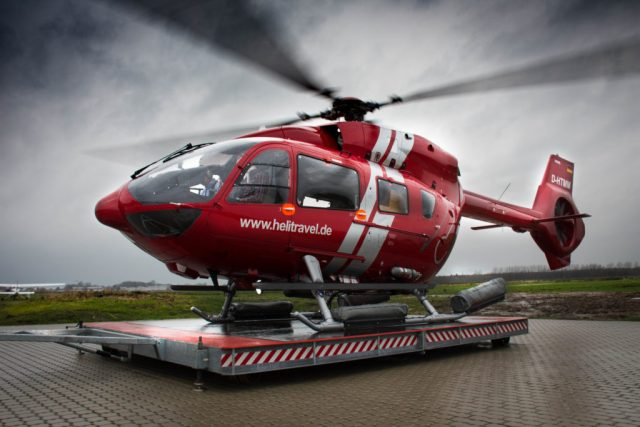 HTM will use the H145 for supporting the offshore wind business in the German Bay.