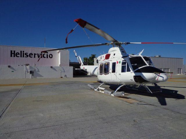 Heliservicio operates a fleet of 22 Bell 412 EP and 429 intermediate helicopters. Heliservicio Photo