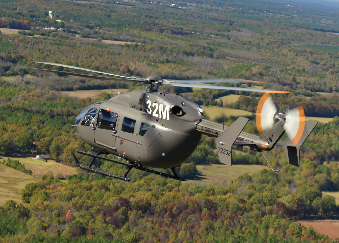 The U.S. Army competitively selected the UH-72A Lakota as its Light Utility Helicopter in 2006. The aircraft became the Army's primary training helicopter under the terms of the 2013 Aviation Restructure Initiative. Airbus Photo