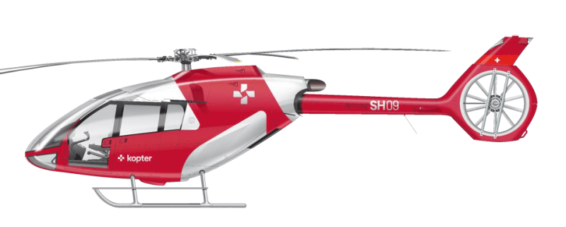 The launch of Kopter is an opportunity for the company's leadership to share its ambitious business strategy, as well as news about its upcoming flight test program and the start of production of the SH09 helicopter. Kopter Image