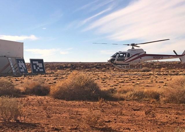 Honeywell automated landing flight testing