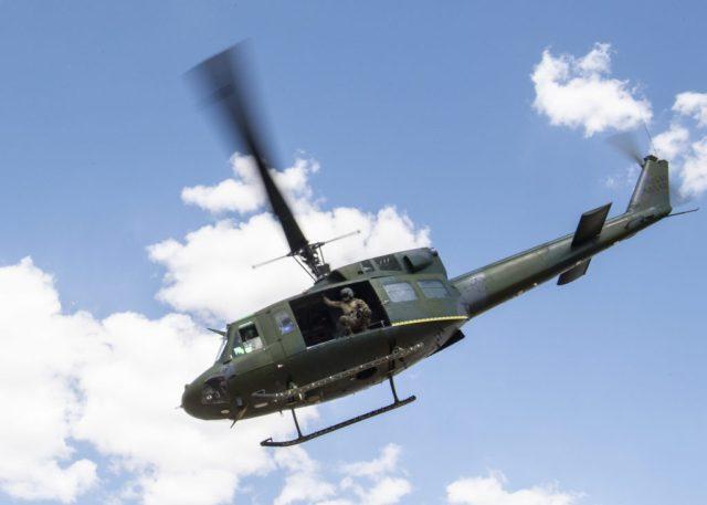 US Air Force UH-1N Huey