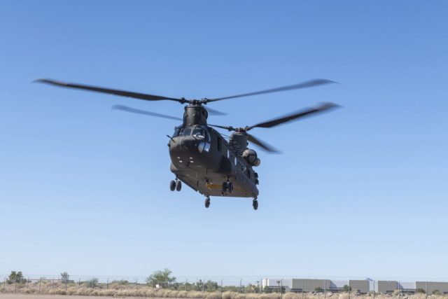 Currently in flight test, the CH-47F Block II Chinook brings critical modernization upgrades to the Army's Chinook fleet. (Boeing photo)