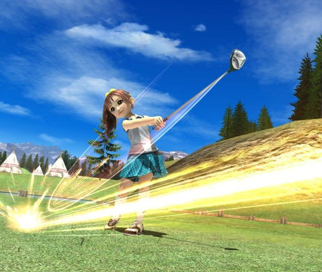 Hot Shots Golf 6 Ps3 Screens Show Off Slot Mode And New Course