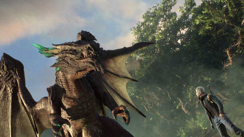 Scalebound is  probably  an open world action game   VG247 scalebound 2