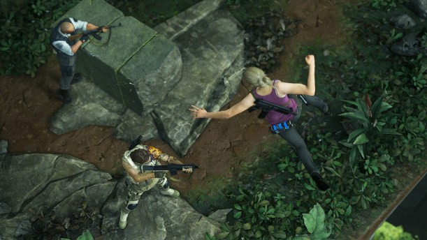 Uncharted 4 drop attack