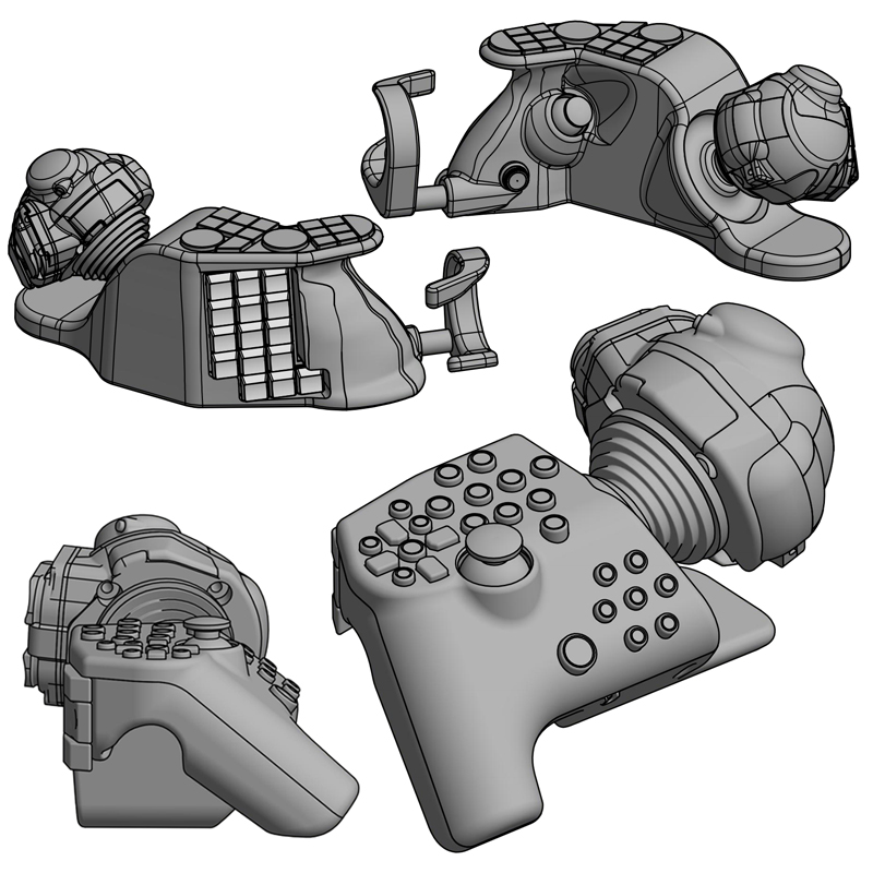 """Nuovo gamepad R-Handle, Nuovo gamepad """"R-Handle"""" il futuro in un prototipo russo"""