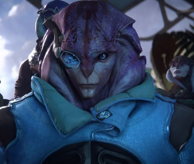 Mass Effect Andromedas Full Nudity Esrb Rating Elicits