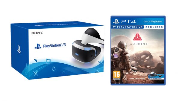PlayStation VR with Farpoint