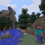 Minecraft Nintendo Switch Edition Seeds For World Spawns With Villages Temples And More Vg247