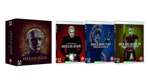 Набор флагов Hellraiser Blu-ray Trilogy