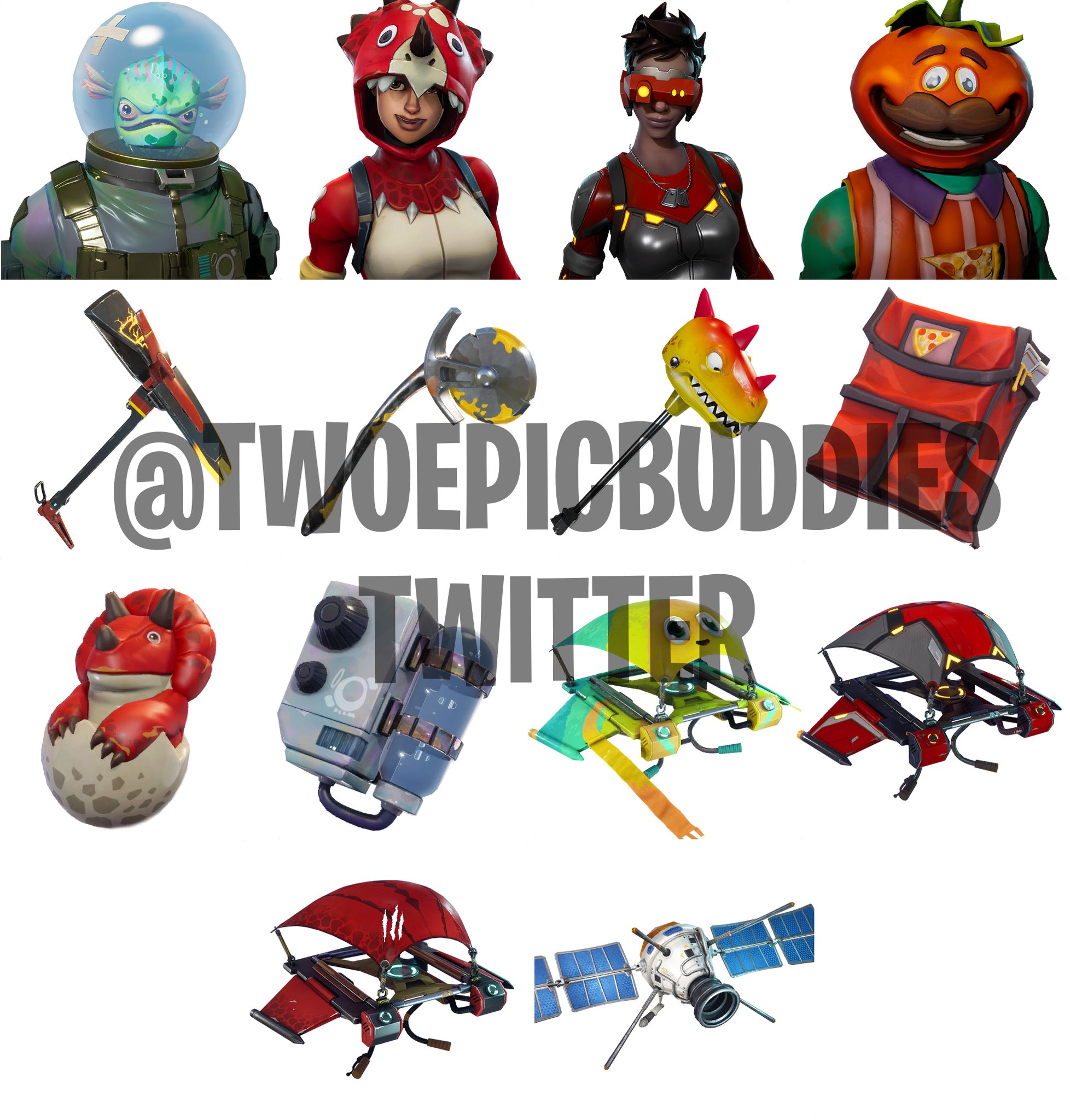 If you're looking for a full list of all fortnite skins then you've come to the right place. Fish Head Outfit Satellite Glider And Other Ridiculous Cosmetics Datamined From Fortnite Patch 3 5 0 Vg247