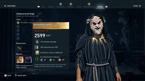 Assassin's Creed Odyssey guide - tips, hints and walkthroughs 5