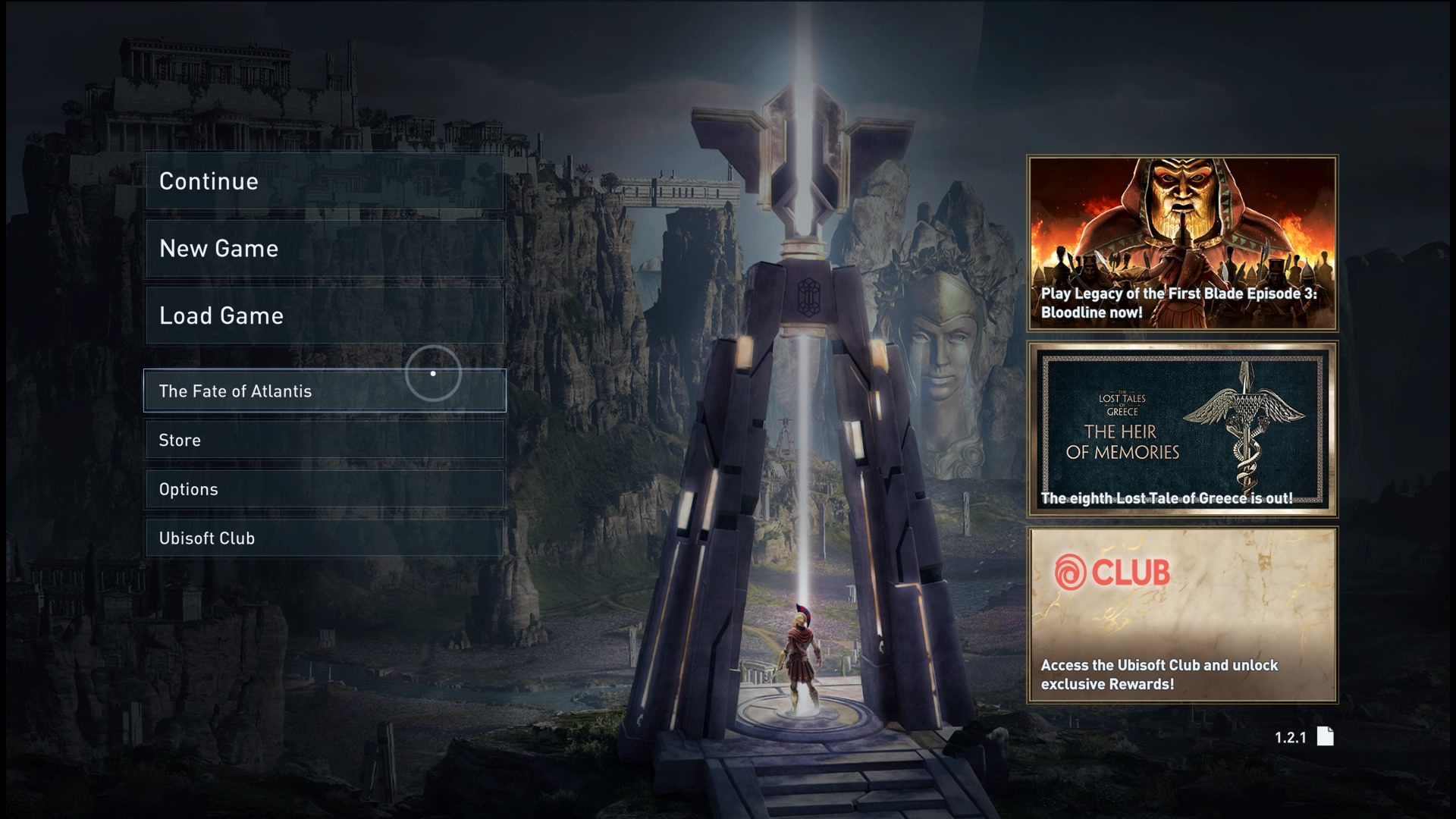 How to start The Fate of Atlantis Assassin's Creed Odyssey