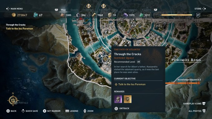 Assassin S Creed Odyssey Judgement Of Atlantis Choices And Ending Guide Vg247