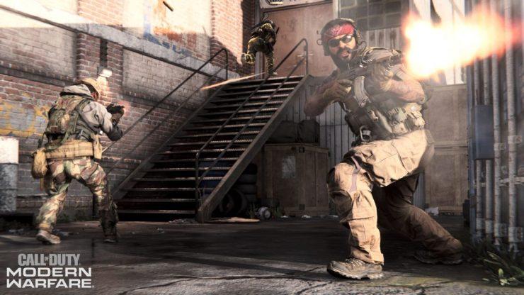 En defensa de los pasos ridículamente ruidosos de Modern Warfare 3