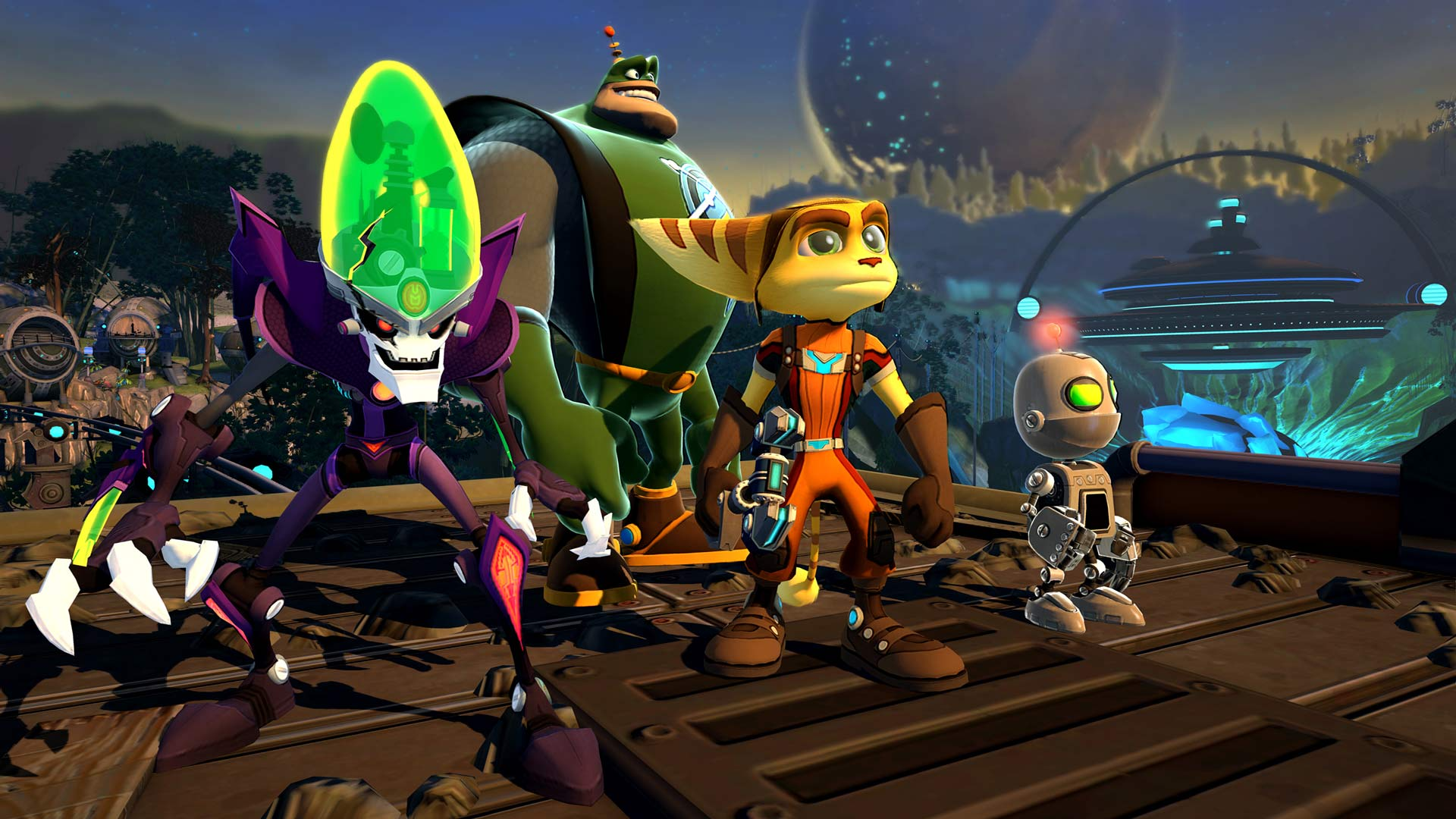 Ratchet Amp Clank All 4 One Does The Screenshot Art Thing