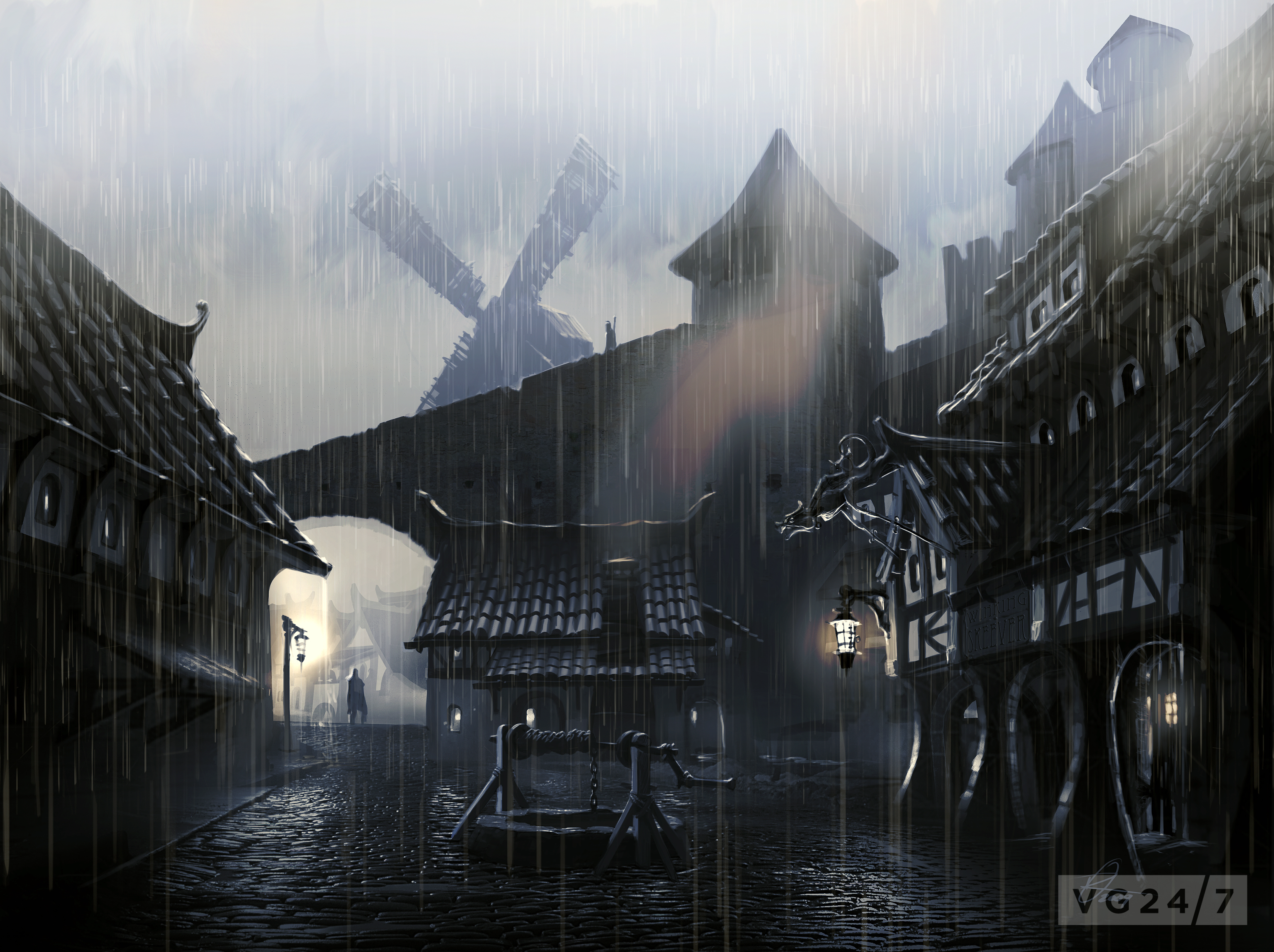 Quick Shots Skyrim Concept Art Depicts People And Places VG247