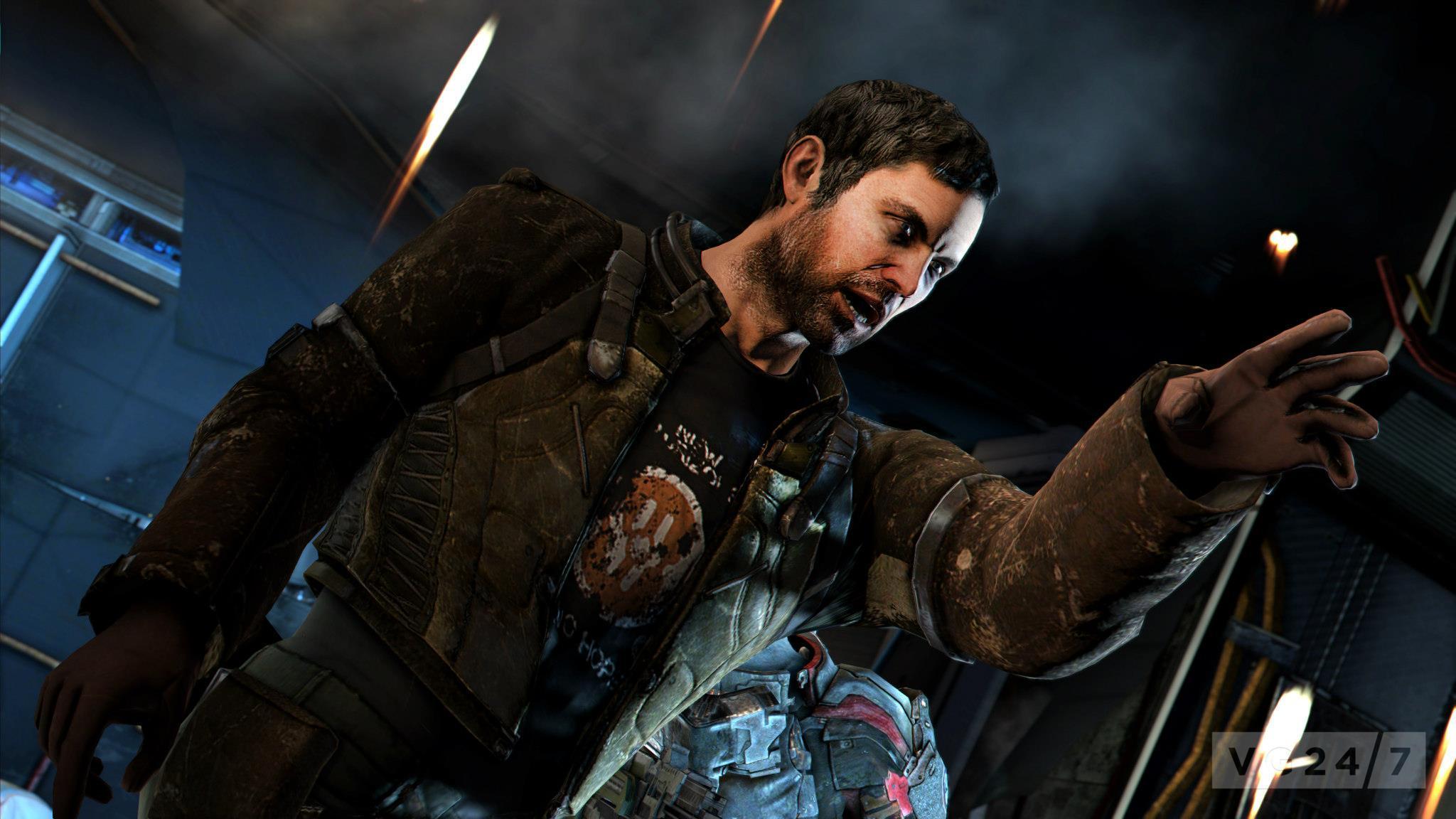 Dead Space 3 New Screens Show Orbital Drops Co Op