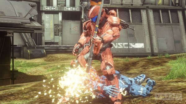 Halo 4: Exile map screens and competitive multiplayer ...