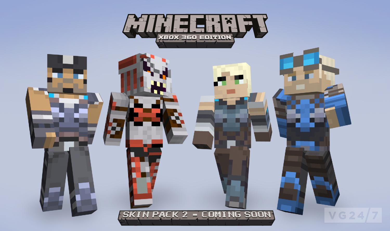Minecraft Xbox 360 Skin Pack 2 Due August 24 VG247