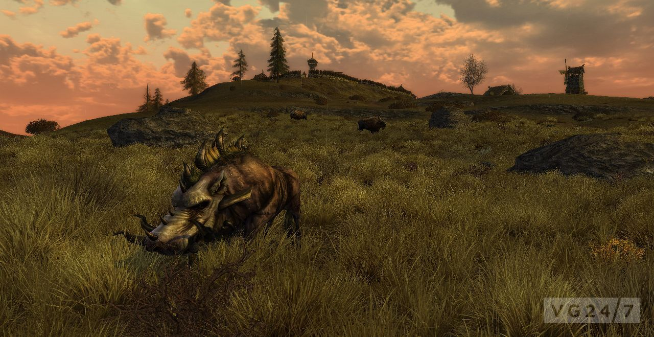 LOTRO Riders Of Rohan Landscape Screens Prep You For
