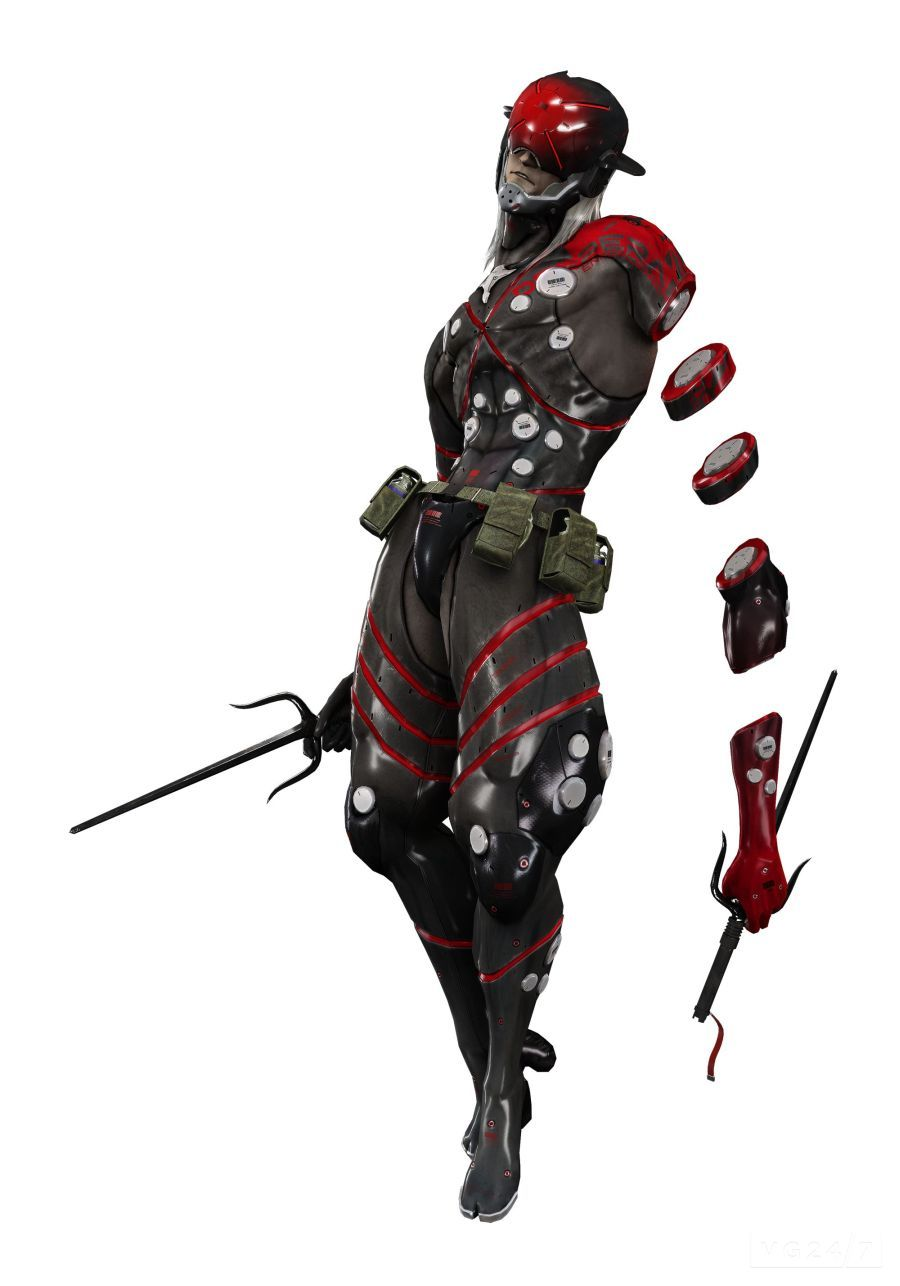 Metal Gear Rising Revengeance Screenshots And Character