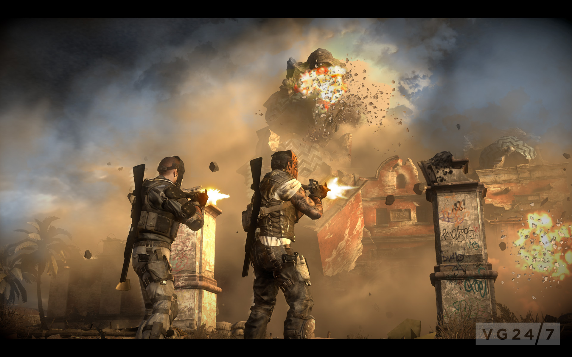 Army Of Two Devils Cartel Screens Show More Guns