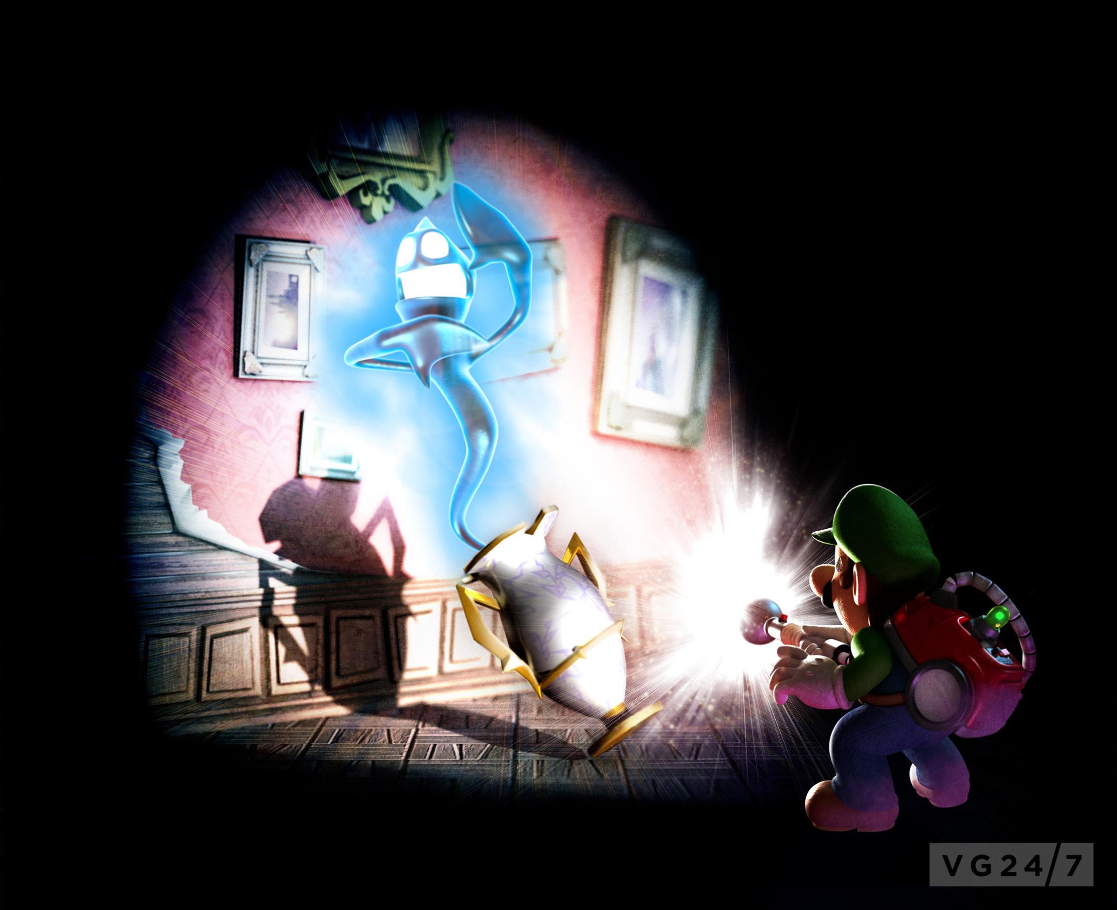 Luigis Mansion Dark Moon Box And Artwork Revealed