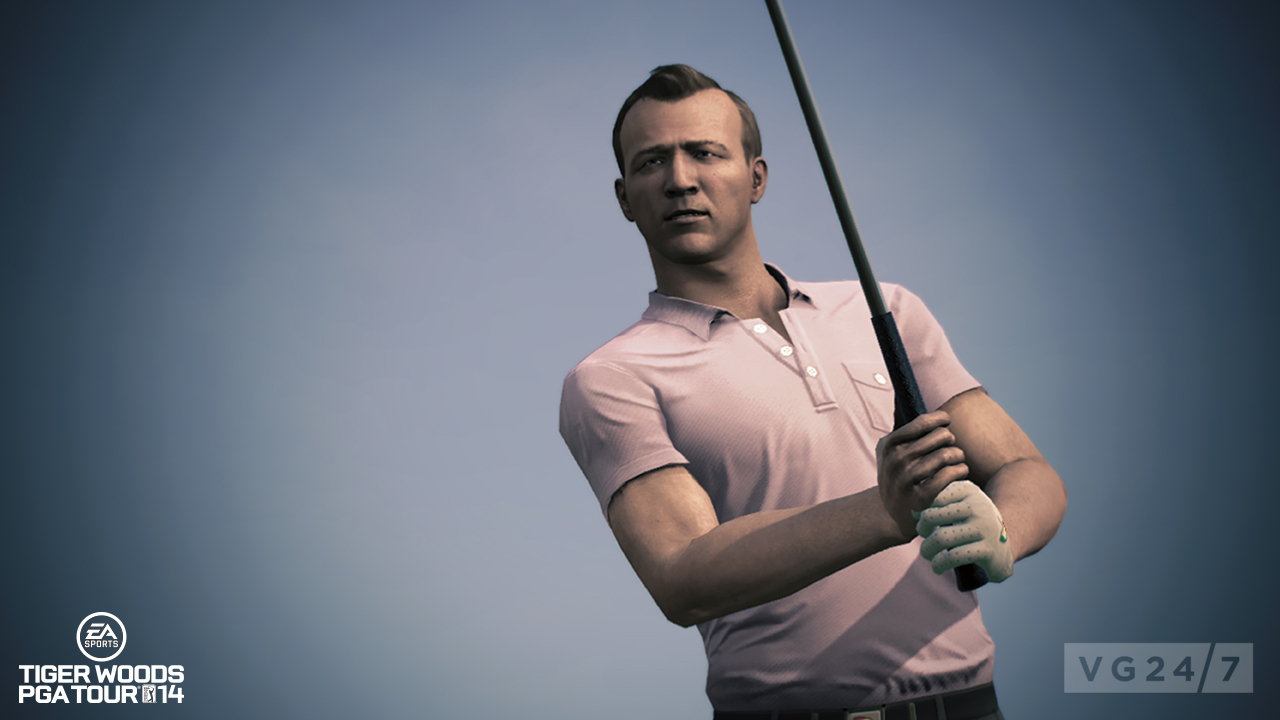 Tiger Woods PGA 14 Shots And Video Show A Young Bobby Jones In His Knickerbockers VG247