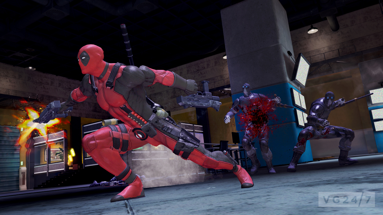 Deadpool New Screens Show DLC Packs Urinals Combat And More VG247