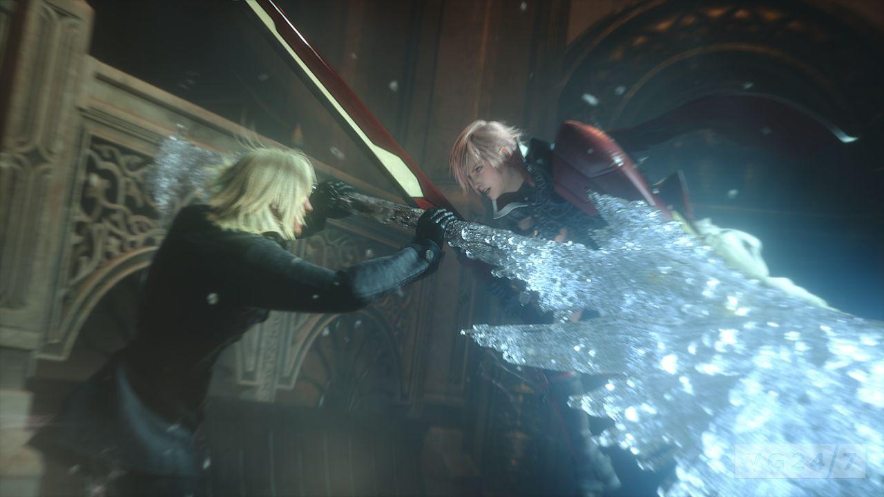 Lightning Returns Final Fantasy 13 Shots Show Snow In