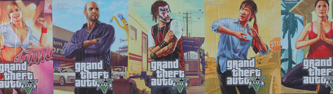 GTA 5 Poster Campaign Reveals New Characters Photo