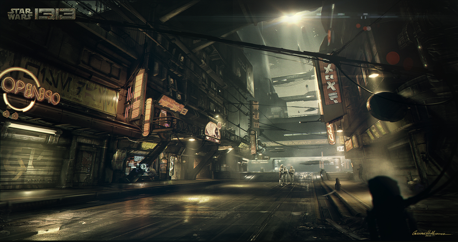 Star Wars 1313 Concept Art Gives Us New Glimpse Of Boba