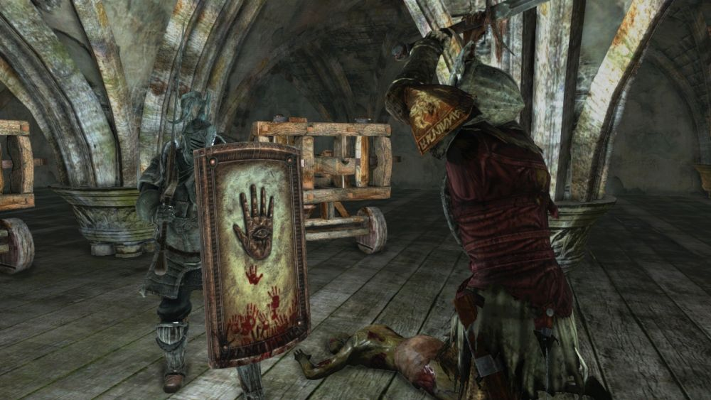 Dark Souls 2 Includes Content Inspired By Community Shield