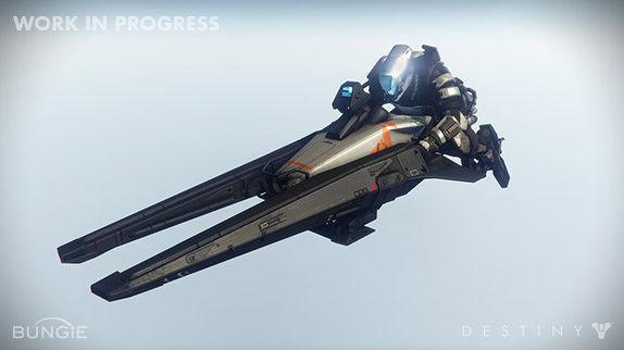 Destiny Bungie Unveils New Shrike Vehicle First Details