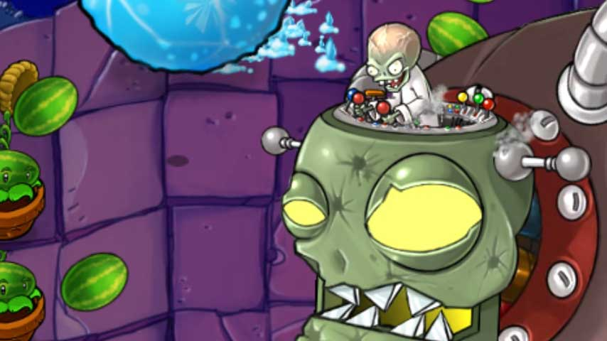 Plants Vs Zombies 2 Its About Time Update Brings Back Zomboss VG247